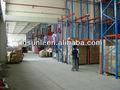 Drive- em prateleira pallet/heavy duty pallet prateleiras de armazenamento