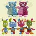 Colorido animal de pelúcia brinquedo infantil mini-pelúcia boneca do brinquedo