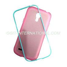 2 in 1 mobile phone case for samsung s4 mini i9100 case