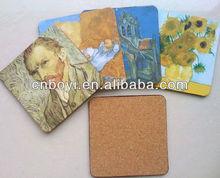 Coaster set/cork placemat/cork mat