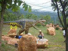 Amusement park products dinosaur robot