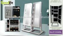 Fashion jewelry cabinet mirror