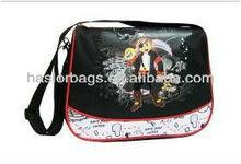 Slik Screen Printing Cartoon Character 2012 Best Messenger Bag