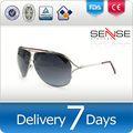 비행가의 선글라스 태양 안경 블랙 프레임 미국 브랜드 화장품