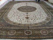 we wholesale traditional large size handmade silk persian rug, no merino sheepskin rug