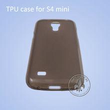 2013 New Arrival TPU Case Dull Polish For Galaxy I9190 Mini S4 T3605-42
