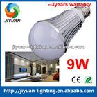 Energy saving green lighting E27 9w high hat led bulb