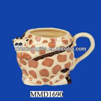 Ceramic Giraffe Mug - 10cm by Ravensden coffee mug