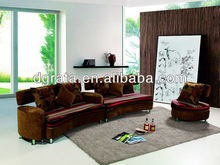 2013 English style fabric sofa set is made fabric and solid wood frame for the living house furniture