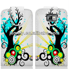 Art painting leather case for samsung galaxy s4