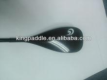 Sup board paddle, black, adjustable