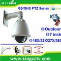 Vandalproof câmera ptz HK-GNS8362 ptz câmera de cctv