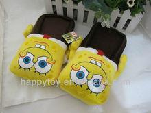 HI CE Lovely sponge bob custom logo slippers