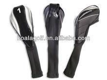 Unique golf head covers,New design PU golf driver head covers