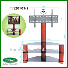 modern tempered glass Plasma/LCD stand/luxury tv stand