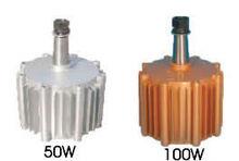 50w-100w generador de imán permanente para turbinas de viento vertical
