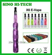 The Coolest Transformer ecigarette 3.6V\3.8V\4.2V Variable Voltage X6 Clearomizer ecigarette CE RoHS Approval