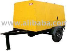 Diesel Driven Portable Screw Air Compressor Model GPC-5.2/7