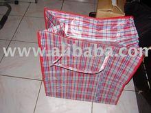 PP woven zipper shopping bags