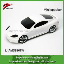 Aston Martin portable led mobile white car speaker
