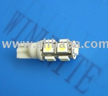 T10 9smd led auto bulbs lamps lights 12V