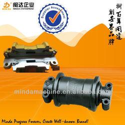 EX100/EX200-1/EX200-2 excavator and bulldozer undercarriage parts /komatsu track roller