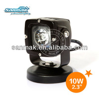 Truck/UTV/Motorcycle/Snow Bicycle/Bike Led Work Light 10watt led light SM6103