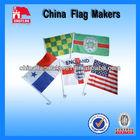Custom Logo Design Sublimation Car Flags For Car