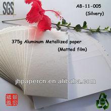 CBRL/Aluimnium Metallized paper(Matted) for printing