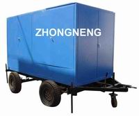 ZN Mobile Vacuum Transformer Oil Filtering Unit | Transformer Oil Purification Machine with Trailer for long distance move