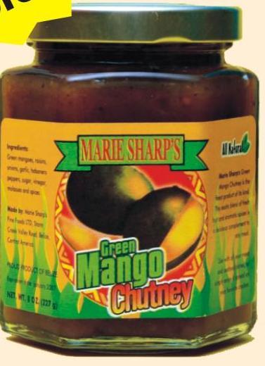 Mango verde Chutney
