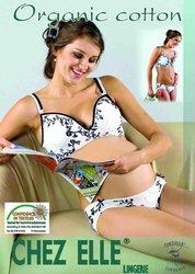 Organic Breastfeeding Bra with print
