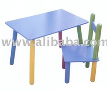Children Desk and Chairs