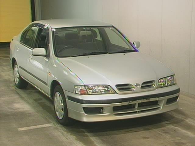 2000 nissan primera sedan rhd used japanese cars buy. Black Bedroom Furniture Sets. Home Design Ideas
