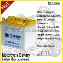 three wheel motorcycle /electric scooter battery pack