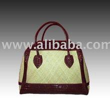 Rattan Travel Bag