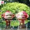 ICTI factory custom make plastic cartoon character monkey dashboard figurines