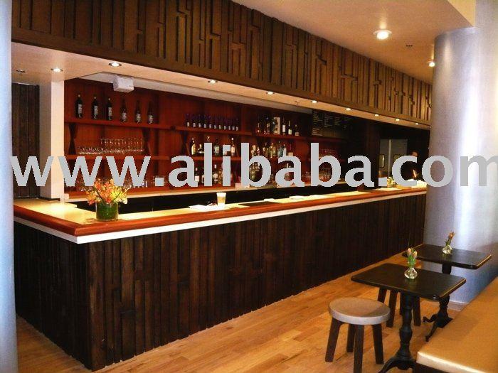 Dise o de interiores y muebles hechos a medida para el bar - Decoracion de interiores de bares ...