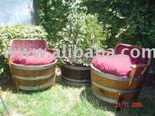 Armchairs of Barrels