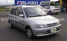 1998 Used Japanese car MAZDA DEMIO/Mazda 2 /Van/RHD/115082km/Gas/Petrol/Silver