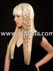 SAFARI HAIR EXTENSION - HAIR TATTOO LEOPARD