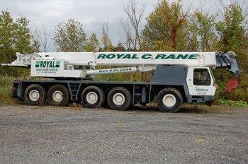 110 ton all terrain crane