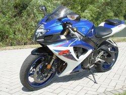 2007 Suzuki GSX-R GSXR-600 motorcycles