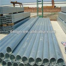 galvanized black erw pipe standard dimensions