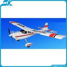 Trainstar (747-4) kongfu giant training airplane more stablizing Model Tech rc heli