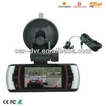 Hot dvr car with night vision and G-sensor gps car dash camera