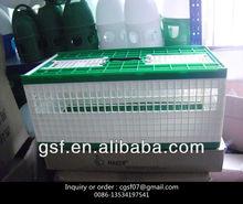 pigeon house , plastic basket
