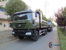 6*4 iveco camion benne hongyan jinggang heavy duty 40 tonnes pour la vente