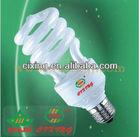 ENERGY SAVE Hot SALE Compact Fluorescent Light Bulbs Half spiral 20w 100watt/