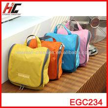 2013 Hot Sale High Quality Waterproof Hanging Travel Washing Bag/ Hanging Toilet Kit